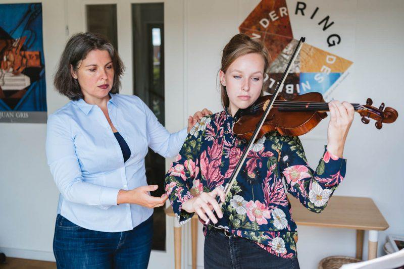 vioolles in Amsterdam-Noord Irene Nas
